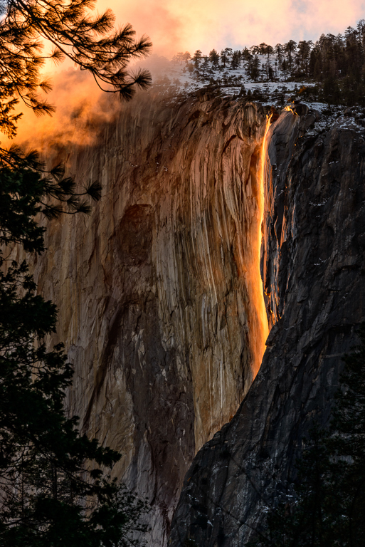 Maker:  Rickey Scroggins Title:  Horsetail Falls Category:  Landscape/Travel Score:  14