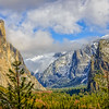 Maker:  Rickey Scroggins<br /> Title:  Tunnel View<br /> Category:  Landscape/Travel<br /> Score:  15