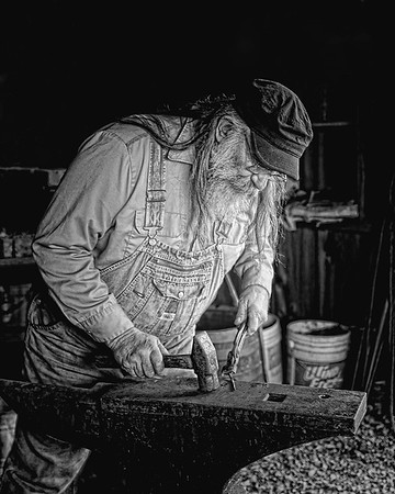 Busy Blacksmith