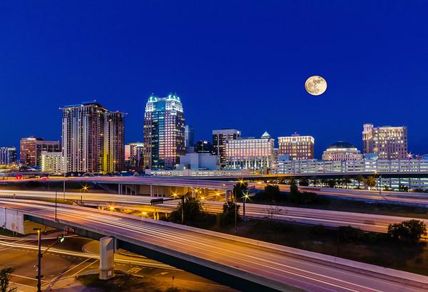 Maker:  Larry Phillips<br /> Title:  Blue Hour Cityscape<br /> Category:  Landscape/Travel<br /> Score:  13