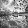 Maker:  Mike Smith<br /> Title:  Alabama Barn Reflection<br /> Category:  Black & White<br /> Score:  12
