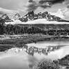 Maker:  Wayne Tabor<br /> Title:  Clouds on Schwabacher Landing<br /> Category:  Black & White<br /> Score:  13