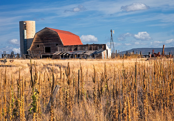 Maker:  Wayne Tabor<br /> Title:  Colorado Farm<br /> Category:  Pictorial<br /> Score:  12