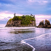 Maker:  Wayne Tabor<br /> Title:  Ruby Beach<br /> Category:  Landscape/Travel<br /> Score:  12