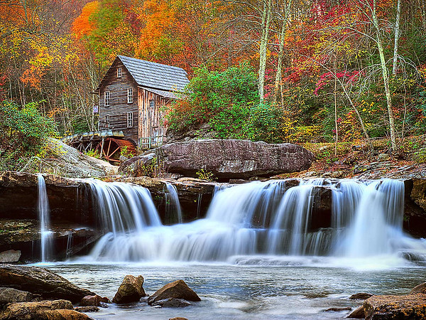Maker:  Dwayne Anders<br /> Title:  Babcock Falls<br /> Category:  Landscape/Travel<br /> Score:  12