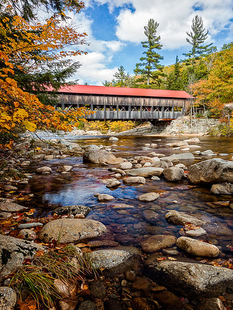 Maker:  Wayne Tabor<br /> Title:  Vermont Bridge<br /> Category:  Landscape/Travel<br /> Score:  15