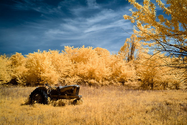 Maker:  Jim Lawrence<br /> Title:  Tired Tractor IR<br /> Category:  Altered Reality<br /> Score:  12