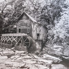 Maker:  Dale Robertson<br /> Title:  Glade Creek Mill W. V.<br /> Category:  Black & White<br /> Score:  13