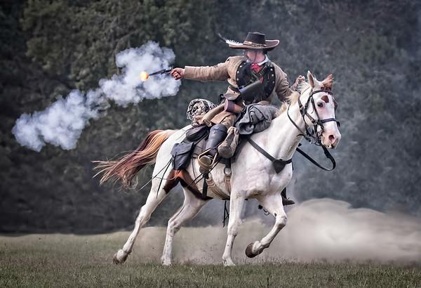 Maker:  Dale Lindenberg<br /> Title:  Gun Fire<br /> Category:  Pictorial<br /> Score:  14