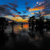 Maker:  Mike Smith<br /> Title:  Caddo Lake Sunset<br /> Category:  Landscape/Travel<br /> Score:  11