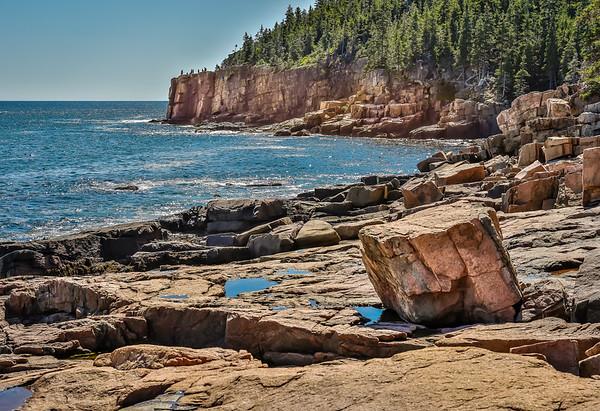 Maker:  Larry Phillips<br /> Title:  Otter Cliff<br /> Category:  Landscape/Travel<br /> Score:  11