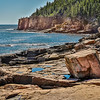 Maker:  Larry Phillips<br /> Title:  Otter Cliff<br /> Category:  Landscape/Travel<br /> Score:  11
