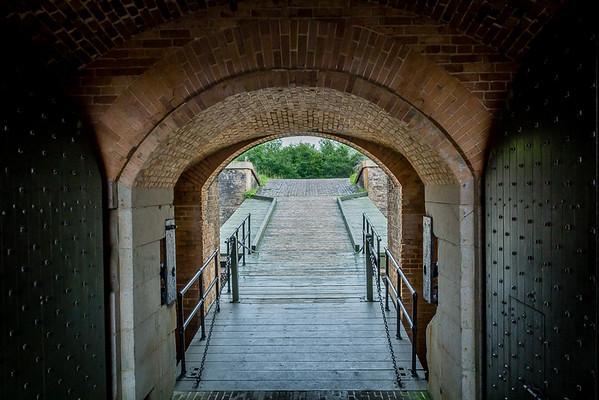 Maker:  Freeman Ligon<br /> Title:  The Gate of Fort Barranca<br /> Category:  Landscape/Travel<br /> Score:  12