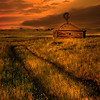 Maker:  Wayne Tabor<br /> Title:  Homestead Sunset<br /> Category:  Pictorial<br /> Score:  15