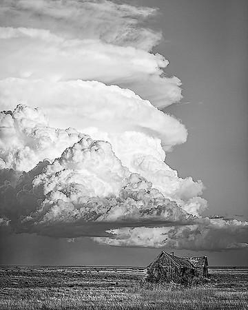Maker:  Wayne Tabor<br /> Title:  Thunderhead<br /> Category:  Black & White<br /> Score:  14