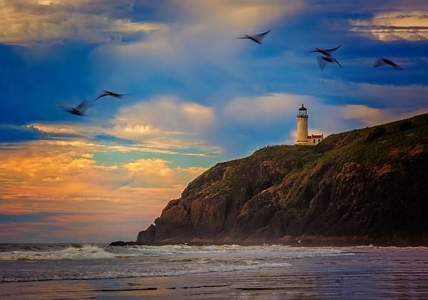 Maker:  Wayne Tabor<br /> Title:  Sunset at North Point<br /> Category:  Landscape/Travel<br /> Score:  13