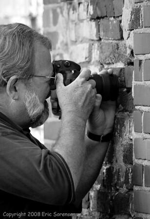 """Monroe Brick Wall Macro""<br /> By Eric Sorensen<br /> Catagory: Open-Monochrome<br /> Score: 11  , 2008"