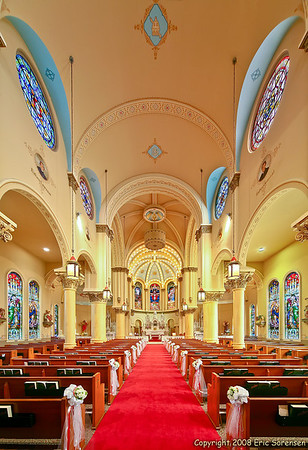 """""""Holy Trinity Catholic Church""""<br /> By Eric Sorensen<br /> Open-Color<br /> Score: 13  , 2008"""