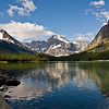 Glacier View on St Mary Lake<br /> Open Color, 15<br /> Jim Lawrence  , 2008