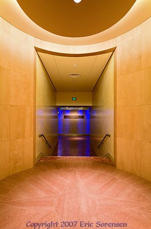 """""""Griffith Park Hallway""""<br /> By Eric Sorensen<br /> Catagory: Open-color<br /> Score: 11  , 2008"""