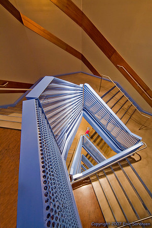 """""""Triangular Staircase"""" <br /> By Eric Sorensen <br /> Catagory: Open-color <br /> Score: 13  , 2008"""