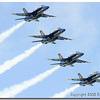 """""""Blue Angels-2005"""" <br /> By Eric Sorensen <br /> Catagory: Open Color <br /> Score: 13  , 2008"""