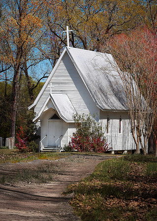 Church in the Woods<br /> By: Wilfred Smith<br /> Catagory: Large Color<br /> Score: 12  , 2008