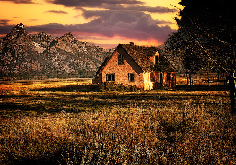 Maker:  Wayne Tabor<br /> Title:  Mormon Cabin <br /> Category:  Pictorial<br /> Score:  13.5