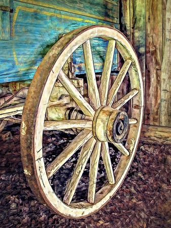 Maker:  Dwayne Anders<br /> Title:  Wagon Wheel<br /> Category:  Altered Reality<br /> Score:  13