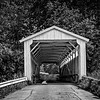 Maker:  Bill Carroll<br /> Title:  Pennsylvania Covered Bridge<br /> Category:  Black & White<br /> Score:  12