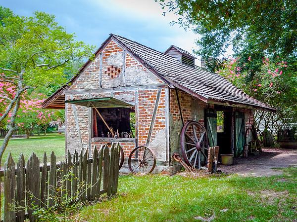 Maker:  Roger Lockridge<br /> Title:  Village Blacksmith<br /> Category:  Landscape/Travel<br /> Score:  11