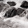 Maker:  Mike Smith<br /> Title:  Water and Rocks<br /> Category:  Black & White<br /> Score:  11