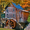 Maker:  Roger Lockridge<br /> Title:  Glade Creek Mill<br /> Category:  Landscape/Travel<br /> Score:  12