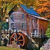 Maker:  Roger Lockridge<br /> Title:  Glade Creek Mill<br /> Category:  Landscape/Travel<br /> Score:  12