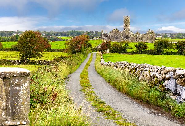 Maker:   Larry Phillips<br /> Title:    Irish Abbey<br /> Category:  Landscape/Travel<br /> Score:  12.5