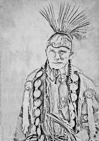 Maker:   Wayne Tabor<br /> Title:  Blackfoot Brave<br /> Category:  Altered Reality<br /> Score:  12.5