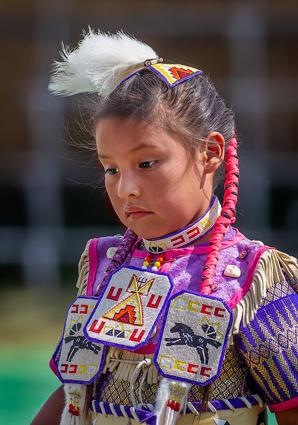 Maker:  Wayne Tabor<br /> Title:  Native Indian Child<br /> Category:  Portraiture<br /> Score:  11.5