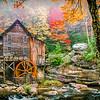 Maker:  Roger Lockridge<br /> Title:  Glade Creek Mill<br /> Category:  Pictorial<br /> Score:  11.5
