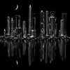 Maker:  Cindy Circu<br /> Title:  Bolt City<br /> Category:  Black & White<br /> Score:  12