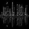 Maker:  Cindy Circu<br /> Title:  Bolt City<br /> Category:  Black & White<br /> Score:  12