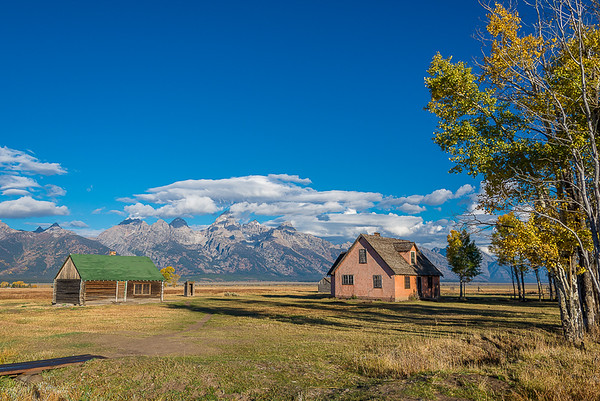 Maker:  Lee Davis<br /> Title:  Morman Pink House & Barn<br /> Category:  Landscape/Travel<br /> Score:  12