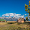 Maker:  Lee Davis<br /> Title:  Morman Pink House & Barn<br /> Category:  Landscape/Travel<br /> Score:  12