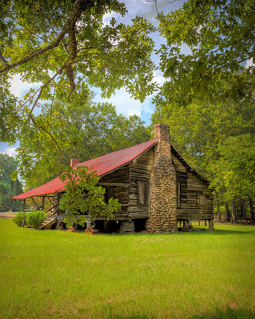 Maker:  Wayne Tabor<br /> Title:  Dogtrot House<br /> Category:  Pictorial<br /> Score:  11.5
