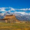 Maker:  Lee Davis<br /> Title: Moulton Barn at Grand Tetons<br /> Category: Landscape/Travel<br /> Score:  13