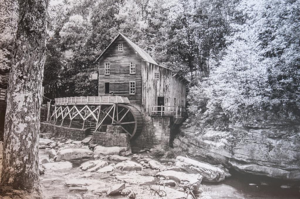 Maker:  Dale Robertson<br /> Title:  Glade Creek Mill W. V.<br /> Category:  Black & White<br /> Score:  13