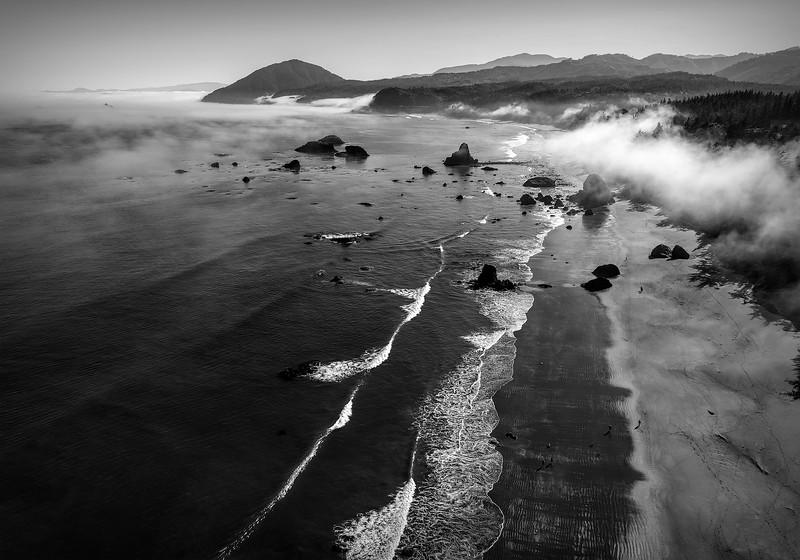 Maker:  Wayne Tabor<br /> Title:  Bando Beach<br /> Category:  Black & White<br /> Score:  14