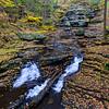 Maker:  Jim Lawrence<br /> Title:  Bushkill Falls 1<br /> Category:  Landscape/Travel<br /> Score:  12