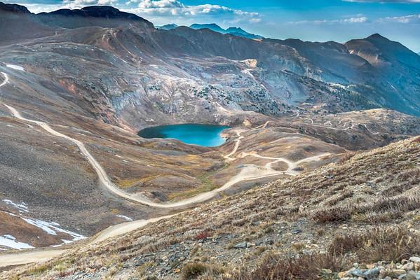 Maker:  Larry Phillips<br /> Title:  Lake on Corkscrew Trail<br /> Category:  Landscape/Travel<br /> Score:  13