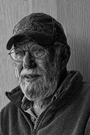 Maker:  Ronald Austin<br /> Title:  Glenn<br /> Category:  Black & White<br /> Score:  14