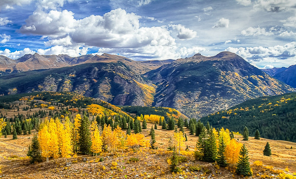 Maker:  Larry Phillips<br /> Title:  Colorado Fall<br /> Category:  Landscape/Travel<br /> Score:  13.5